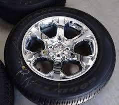 dodge ram take wheels dodge ram 1500 oem factory 20 inch chrome wheels laramie longhorn