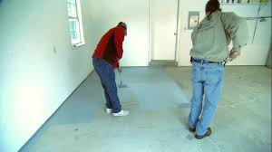 Sealing A Bathroom Floor How To Apply An Epoxy Coating To A Garage Floor Today U0027s Homeowner