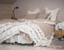 shabby chic bedding etsy