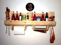 meuble de cuisine en palette etagère idee bricolage fabriquer etagere en palette meubles