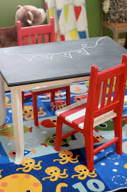 Pottery Barn Kids Farmhouse Chairs Best 25 Kids Table Redo Ideas On Pinterest Plastic Picnic