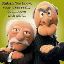 the muppets greeting card statler and waldorf co uk