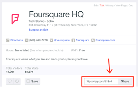 A Place When How Do I Find The Location Url Of A Place On Foursquare Help Center