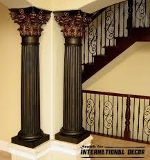 Pillar Designs For Home Interiors by Appealing Interior Columns Wraps Pics Design Ideas Surripui Net