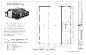 rv garage with living space barn ideas rv workshop apartment plans free house plan with living