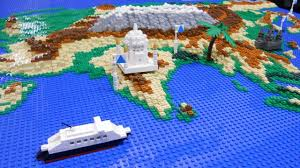 3d Map Of The World by Lcp 4 In 80 Sekunden Um Die Lego Welt Lego 3d World Map