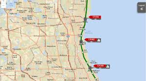 Redline Chicago Map by Extensive Delays On Metra Up N Trains After Pedestrian Hit Near