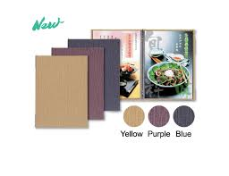 Restaurant Menu Covers Texture A4 Stylish Menu Covers Re 101