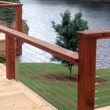 Decking Kits With Handrails Cable Deck Railing The Deck Store Online