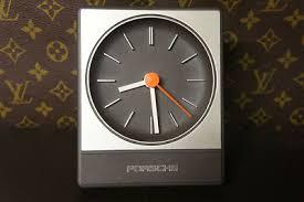 design aachen vintage porsche desk clock aachen germany design works