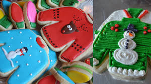 a guide to making the cutest ugly christmas sweater cookies