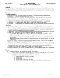Quality Assurance Analyst Resume Sle by Customer Service Quality Resume Domov Quality Assurance