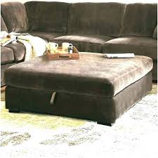 Large Storage Ottoman Bench Large Ottoman With Storage Tufted Leather Ottoman Coffee Table