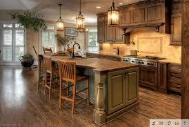 rustic wooden kitchen cabinet pickle green wooden kitchen island