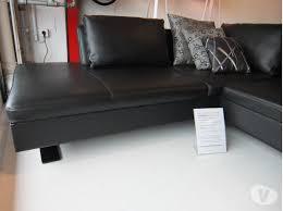canapé 5 places pas cher canapé d angle 5 places boxieblanc cuir pleine fleur noir