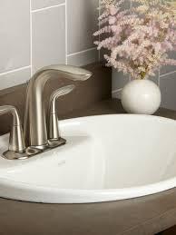 Overmount Bathroom Sink Bath Sinks U0026 Tops Bathroom The Bath Barn Showroom
