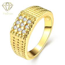 cheap gold rings images Expensive wedding rings classic simple round rose gold color with jpg