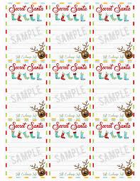 100 secret santa form template doc662855 free questionnaire