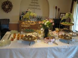 baby shower buffet table decorating ideas decorating buffet tables
