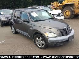 Interior Pt Cruiser Used 2001 Chrysler Pt Cruiser Van For Sale At Auctionexport
