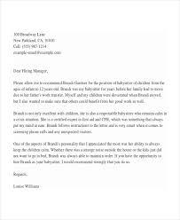 sample reference letter for nanny job compudocs us