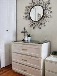 White Painted Bedroom Furniture These Used To Be Black Ikea Malm Dresser Now Freshened Up By