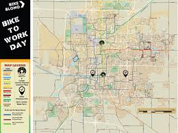 Normal Illinois Map by Bike Blono