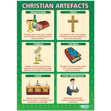 religious artefacts poster set books and posters religious