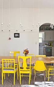 yellow kitchen table and chairs yellow kitchen chairs 10 dark stained dining table wishbone chairs