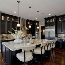 beautiful kitchen ideas 38 fabulous kitchen island designs colour contrast light colors