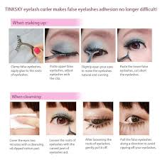 amazon com tinksky false eyelashes extension applicator remover