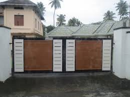 simple gate designs for homes in kerala in addition to iron