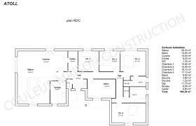plan de maison gratuit 4 chambres plan de maison 4 chambres plain pied gratuit bizoko