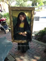 original diy costume idea mona lisa diy costumes mona lisa and