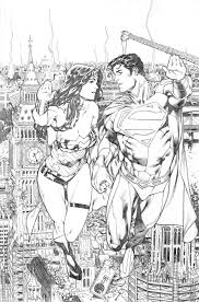 coloring pages of wonder woman superman u0026 wonder woman appreciation page 22