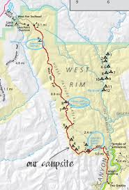 map of zion national park trail backpacking guide zion national park bearfoot theory