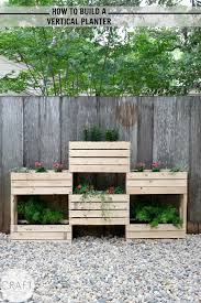 How To Build A Planter by How To Build A Vertical Planter C R A F T