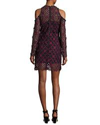 cold shoulder dress self portrait floral grid cold shoulder dress multi