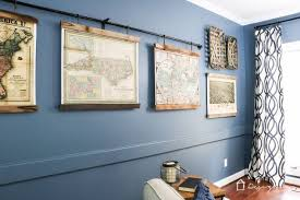 DIY Map Art From Old Pallets