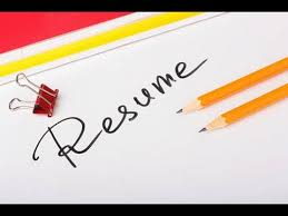 how to write your first resume interview tips youtube