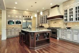 two tone kitchen color ideas wall cabinets photo subscribed me