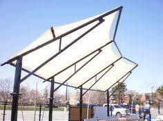 American Awning Co Patio Awning And Cafe Curtain System Featuring Sunbrella Fabric