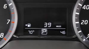 nissan sentra fuel consumption 2017 nissan sentra trip computer if so equipped youtube