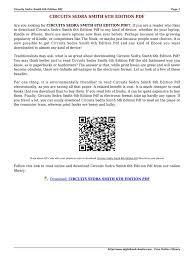 circuits sedra smith 6th edition pdf kgwk e books electrical