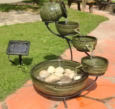 solar fountains with lights solar garden fountains street home st mo this garden fountain