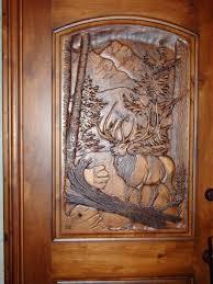 interesting door design in wood carved wooden doors main