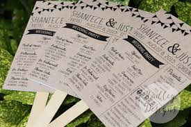 program fans for wedding ceremony hadley designs programs