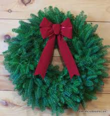 raise funds for your orgainization with maine balsam wreaths