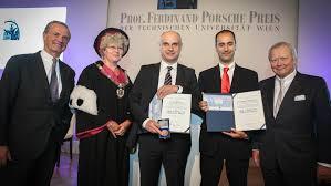 ferdinand porsche professor ferdinand porsche prize was awarded