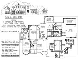 bedroom 5 bedroom 2 story house plans